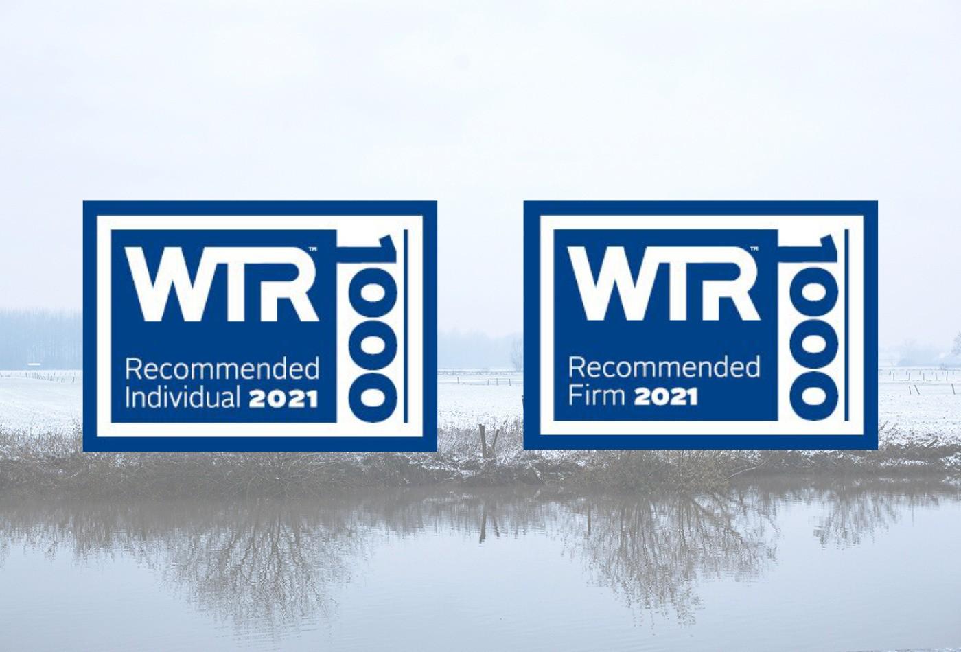 WTR 1000 recommends De Clercq & Partners