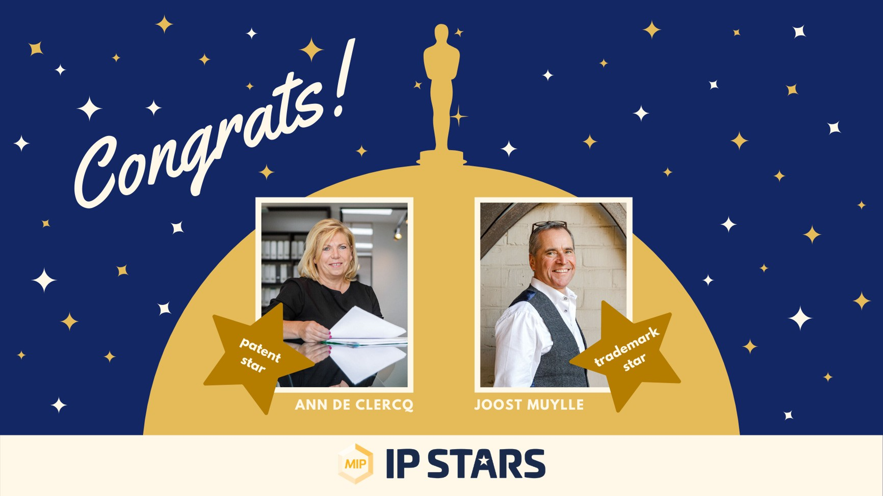 MIP publishes IP Star individual rankings for 2020!